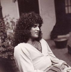 The beautiful Gino Vannelli-then