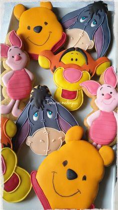 Winie pooh cookies