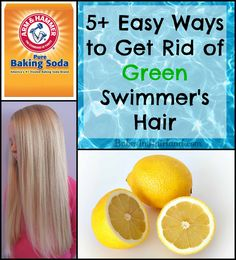5 Easy Ways to Get Rid of Green Swimmer's Hair from BabesInHairland.com