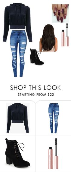 """""""My every day style"""" by matessed ❤ liked on Polyvore featuring Vetements, WithChic, Journee Collection and Too Faced Cosmetics"""