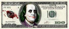 Top 60 des billets de banque dessinés, le dollar version fun
