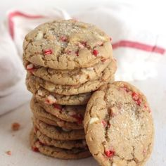 White chocolate chip cookies with a flair of peppermint make a fun and easy holiday treat, perfect for entertaining, gifts, or a chilly December evening in with the family. Last week was not a great week for us and our cars. My husband's car battery died and my brakes went out. And to top it …