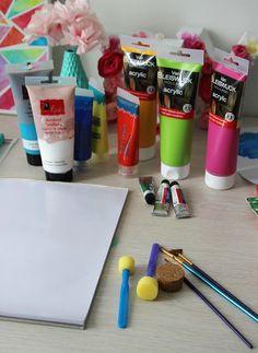 Schilderij met ballonnen - DIY   Lisanne Leeft Black Vans, Diys, Om, Bricolage, Do It Yourself, Homemade, Diy