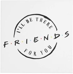 When you need to spruce up your space, the Friends Logo Canvas Art Print will be there for you. Featuring the logo of the hit TV show, this is a chic, stylish way to celebrate your Friends-ship. Made in USA. Friends Sketch, Drawings Of Friends, 1440x2560 Wallpaper, Wallpaper Iphone Cute, Friend Logo, Art Friend, Illustration Amis, Tattoo Tv Shows, Friends Poster