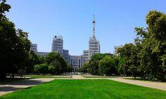 (42) DERZHPROM BUILDING IN CITY OF KHARKIV STATE OF UKRAINE PHOTOGRAPH BY VIKTOR O LEDENYOV 20160621 - Kharkiv - Wikipedia Ukraine, Sidewalk, Photograph, City, Building, Photography, Side Walkway, Buildings, Walkway