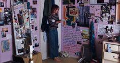 lady bird Teenage Bedrooms on Screen - Lady Bird (Greta Gerwig, Dream Rooms, Dream Bedroom, My New Room, My Room, Room Ideas Bedroom, Bedroom Decor, Wall Decor, Grunge Bedroom, Punk Bedroom