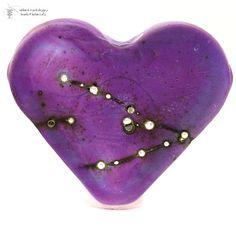 Plum Silver Matte Heart. Starting at $10 on Tophatter.com!