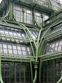 """Explore our web site for more info on """"greenhouse architecture design"""". It is actually a superb place to find out more. Art Nouveau, Slytherin Aesthetic, Greenhouse Plans, Simple Greenhouse, Belle Villa, Howls Moving Castle, Aesthetic Colors, Glass House, Conservatory"""