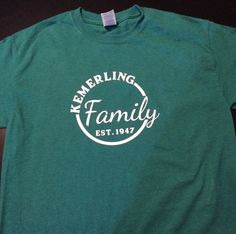 Family Reunion Shirt by ChocolateCoconut on Etsy