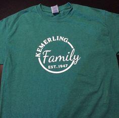 Family Reunion Shirt by ChocolateCoconut on Etsy