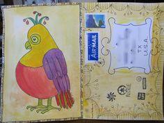 mail art postcard... Anne Doyle