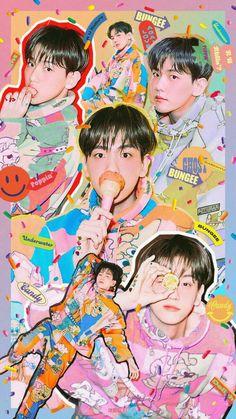 백현 Baekhyun The mini album [Delight]🍬 Shinee, Taemin, Nct, Luhan, Capitol Records, Baekhyun Wallpaper, Exo Album, Exo Lockscreen, Kpop Exo