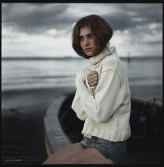 Fuji GF670 Film Female Portrait - 6x6