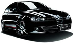 Alfa Romeo 147 GTA Black