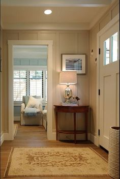 Traditional bedroom entry