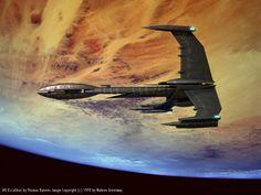 Gravidade Variável: 10 naves emblemáticas de séries e filmes de ficção científica Spaceship Art, Spaceship Design, Fiction Movies, Science Fiction Art, Fantasy Movies, Sci Fi Fantasy, Sci Fi Spaceships, Babylon 5, Sci Fi Ships