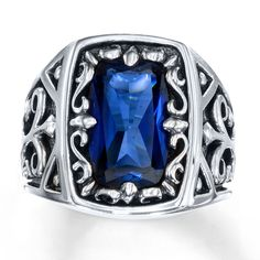 Image result for mens sapphire rings