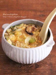メール in 2020 Paleo Keto Recipes, Diet Recipes, Cooking Recipes, Healthy Family Meals, Some Recipe, Food Menu, Japanese Food, Soups And Stews, Asian Recipes