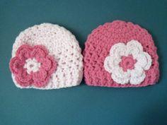 Crochet Baby Girl Hat Newborn Girl Hat Infant Hat  by LovelyJC, $23.00