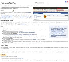 Wallflux, the tool which helps you to export Facebook Page and Group Walls to RSS 2.0 and Atom-feeds.