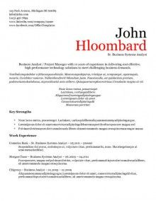 Templates For Resume Modernsplit Page  Resume Templates  Pinterest  Template