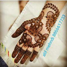 Finger Mehendi Designs, Rose Mehndi Designs, Arabic Henna Designs, Mehndi Designs For Beginners, Beautiful Henna Designs, Latest Mehndi Designs, Mehndi Tattoo, Henna Mehndi, Bridal Mehndi