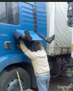 49 Best Ideas For Truck Driver Humor Funny Pictures Lol Funny Cute, Funny Shit, The Funny, Funny Stuff, Funny Photos, Funny Images, Hilarious Pictures, Images Photos, Funny Captions