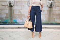 THE PERFECT CULOTTES, ANN TAYLOR PANTS, ANN TAYLOR WIDE LEG PANTS, HOW TO WEAR CULOTTES, WORKWEAR FASHION, WHAT TO WEAR TO WORK