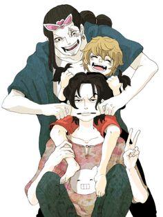 One Piece, Jabura, Kaku< Lucci