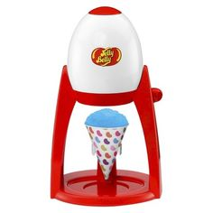 Jelly Belly Electric Ice Shaver (018579153355) Enjoy that great jelly belly flavor while cooling down with freshly shaved ice. The jelly belly electric ice shaver is the simple way to create shaved ice.â -shave ice cubes into fluffy shaved ice, perfect for snow cones, slushies and party drinks. -hinged cone cup holder for added versatility. Use regular cups or snow cone cups with ease. -shaving blade can be adjusted for coarse or fine shaving. -perfect for use with jelly belly premium ...