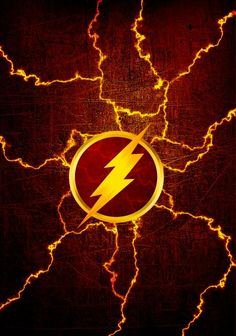 Flash symbol with lightning