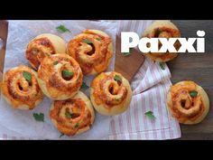 Αφράτα ρολάκια πίτσας για τα πάρτι | Σνακ για παιδιά | Paxxi (Ε235) - YouTube