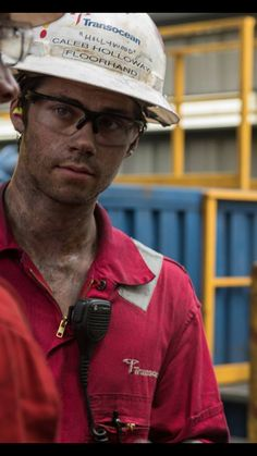 Dylan O´Brien - Deepwater Horizon - His character's nickname is Hollywood. :) Idk why I find that so funny.