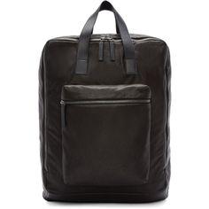Ann Demeulemeester - Black Leather Backpack