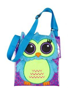 Cartoon Owl Crossbody Bag