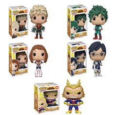 From My Hero Academia comes this My Hero Academia POP! Vinyl Figure set of Collect and Display all of the My Hero Academia POPs! Funko Pop Anime, Pop Vinyl Figures, My Hero Academia, Random, Fictional Characters, Art, Art Background, Kunst, Performing Arts