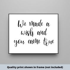 We made a wish and you came true x h hand-painted wood sign - We made a wish and you came true x 14 h Sign Quotes, Wall Quotes, Do It Yourself Decorating, Painted Wood Signs, Hand Painted, Baby Boy Signs, Superhero Signs, Make Your Own Sign, Cute Wall Decor