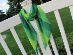The Spring Green Scarf