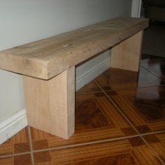 Solid Oak Bench £65.00
