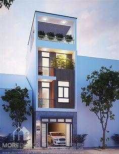kiến trúc nhà phố 5x25m