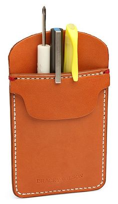 Leather mxs Pocket Protector
