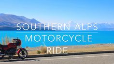 3 day Southern Alps Motorcycle Ride, South Island, New Zealand - BMW R80...