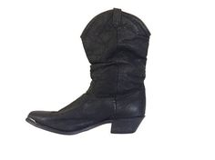Black Cowboy Boot Women Dingo Boot Cowgirl Boot Women Boho Bohemian Shoe Country Western #thevillevintage
