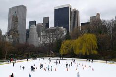 Ice skating at the Wollman Rink in Central Park. Image by Bekhap / CC BY 2.0