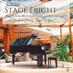 Stage Fright - tips from Jenny Leigh Hodgins Music Flow, Piano Recital, Spiritual Wellness, Confidence Building, Piano Lessons, Life Savers, Music Education, Anxiety, Stage