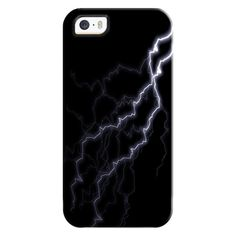iPhone 6 Plus/6/5/5s/5c Bezel Case - Lightning strike (€31) ❤ liked on Polyvore featuring accessories, tech accessories, cases, phone cases, iphone case, apple iphone cases and iphone cover case