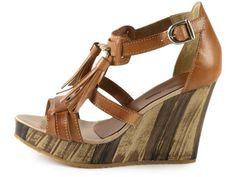 Ilse Jacobsen: Wedge Leather Sandal