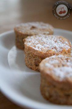 Gâteaux aux noix de Philippe Conticini :: La cuisine d'Elise et Julie