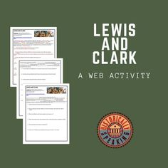 Students use the web to explore Lewis and Clark.