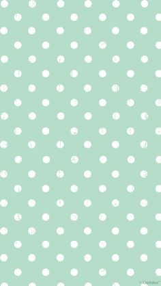 Mint green white distressed spots polka dots iphone phone wallpaper background lock screen